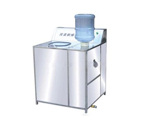 桶装水生产线配套拔盖刷桶机